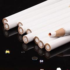 5PCS Professional White Nail Art Dotting Pen (Pencil) for Manicure Rhinestones Decorations