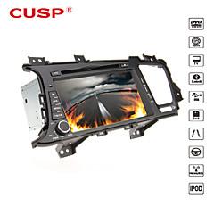 cusp® 8 palců 2DIN v palubní desce auta DVD přehrávač pro kia K5 / Optima 2011-2013 GPS podpora, BT, RDS, hry, ipod