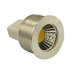3W GU5.3(MR16) LED szpotlámpák MR11 1 COB 270LM lm Meleg fehér Állítható DC 12 V