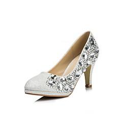 Women's Wedding Shoes Heels/Pointed Toe Heels Wedding Silver