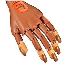1pcs Salon Nail Trainer Ausbildungspraxis Hand&enthalten 100pcs Nagelspitzen für Nagelkunst