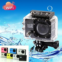 Charger / Waterproof Housing / Mount/Holder / Sports Action Camera 4608 x 3456 WiFi / Anti-Shock 2 CMOS 32 GB H.264 30 M