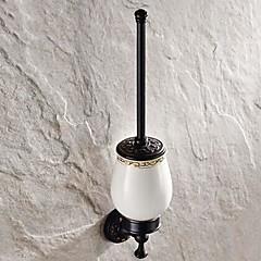 """Toiletbørsteholder Olieret bronze Vægmonteret 500 x 280 x 160mm (19.68 x 11.02 x 6.29"""") Messing Antik"""