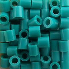 ca. 500 Stück / Beutel 5mm See blau perler Perlen Bügelperlen Hama Perlen DIY Puzzle EVA-Material safty für Kinder