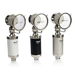 Meisheng condensador t6-2 terno microfone para cantar gravação