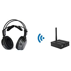 2.4GHz HDCD Wireless Headphone for Slient Disco(with a Desktop Transmitter) TP-WHB01