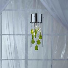 Pendent Licht 1 Licht Country-Stil Malerei Glas