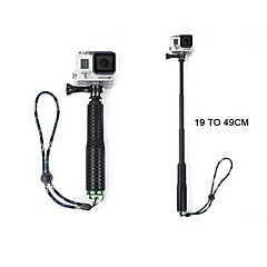Gopro Accessories Monopod / ScrewFor-Action Camera,Gopro Hero 3+ / Gopro Hero 5 / Gopro 3/2/1 / Sports DV 1pcs Rubber / Aluminium Alloy