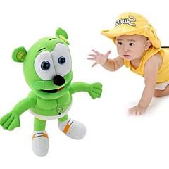 synger jeg en Vingummibamse opvarmning musical nye gummibar udstoppet legetøj plys dukke 30cm