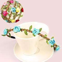 Women's / Flower Girl's Paper / Flannelette Headpiece-Wedding / Special Occasion Wreaths