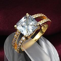 Anéis Casamento / Pesta / Diário Jóias Liga Feminino Anéis Statement5 / 6 / 7 / 8 / 9 Dourado