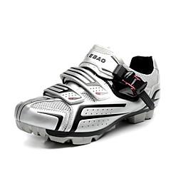 tiebao ciclismo mountain bike unisex sapatos com sola de fibra de vidro e pvc superior