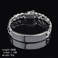 Manschett - Armband ( Silver ) - till Herr