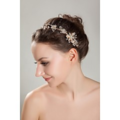 Women's / Flower Girl's Rhinestone / Crystal / Imitation Pearl Headpiece-Wedding / Special Occasion / Outdoor Headbands