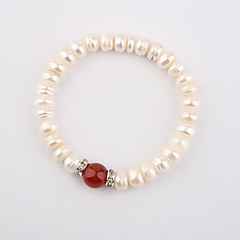 moda collane ciondolo perla naturale
