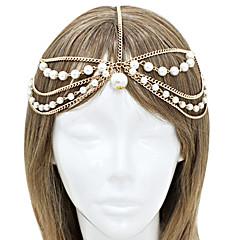 shixin® mode kwastje parel legering hoofdbanden (1 st)