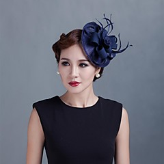 Women Wedding Party Sinamay Feather Fascinators SFC12386
