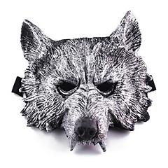 Halloween-masker Maskerademasker Ulvehoved Ferieartikler Halloween Maskerade 1