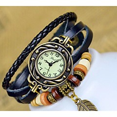 Handcee® Women's Fashion PU Wrist Watch Decoration Watch with Many Colors