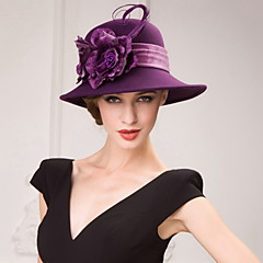 Women's Wool Headpiece-Special Occasion Hats
