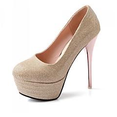 Women's Shoes Synthetic Stiletto Heel Heels/Platform Pumps/Heels Wedding More Colors available