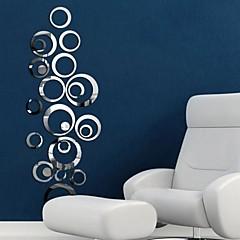 Spiegel Wand-Sticker Spiegel Wandsticker Dekorative Wand Sticker,Polystyrene Stoff Abziehbar Haus Dekoration Wandtattoo