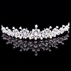 Dame Legering Headpiece-Bryllup / Spesiell Leilighet / Utendørs Diademer Sølv Rund