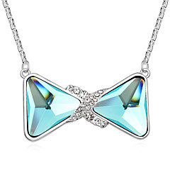 Lucky Star Women's Vintage Crystal Candy Chain Necklace