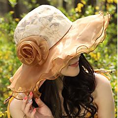 נשים תחרה / טול כיסוי ראש-אירוע מיוחד / קז'ואל / חוץ כובעים חלק 1