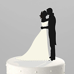 Cake Toppers Classic Couple Acrylic Sweet Love Cake Topper