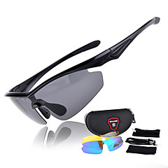 Ciclismo/Fitness, Corrida e Yoga/Passeios de barco Homens/Mulheres/Unissex 's Polarized/100% UVA e UVB Enrole Óculos Esportivos