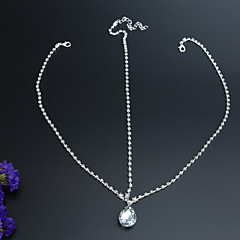 Classic Diamond Chain Wedding/Party Headpiece