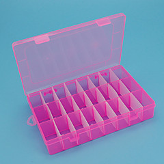 Opbevaringskasser / Smykkeskrin / Smykkeopbevaring / Makeup Opbevaring Plastik medFeature er Med låg , For Smykker