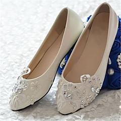 שטוחות - נשים - נעלי חתונה - שפיץ - חתונה / מסיבה וערב - לבן