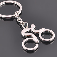 Zinc Legering Nyckelrings Favors-1Piece Piece / Set Nyckelband Ej personlig Silver