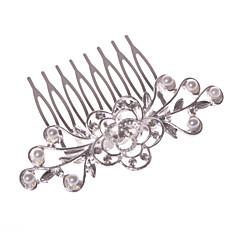 Vrouwen Bloemenmeisje Licht Metaal Helm-Bruiloft Speciale gelegenheden Informeel Kantoor & Cariere Buiten Haarkammen 1 Stuk