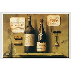 Hånd-malede Still LifeEuropæisk Stil / Moderne Et Panel Canvas Hang-Painted Oliemaleri For Hjem Dekoration