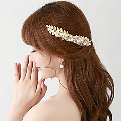 Femme Cristal / Alliage / Imitation de perle Casque-Mariage / Occasion spéciale / Extérieur Peigne 2 Pièces
