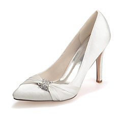 Women's Shoes Silk Stiletto Heel Pointed Toe Pumps/Heels Wedding/Party & Evening Wedding Shoes More Colors available
