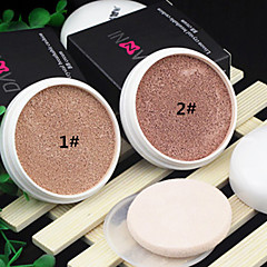 2 Foundation Wet CushionMoisture / Sun Protection / Coverage / Whitening / Oil-control / Long Lasting / Concealer / Waterproof /
