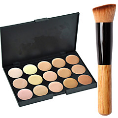 15 Concealer/Contour Cream-to-powder Face