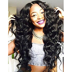 Unprocessed Brazilian Full Lace Human Hair Wigs Lace Front Wigs Body Wave Virgin Hair with Baby Hair for Black Women