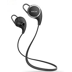 qcy qy8 mini vezeték nélküli sztereó sport futó bluetooth fülhallgató fejhallgató headset (fehér&fekete)