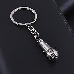 Rostfritt Stål Nyckelrings Favors-1 Piece / Set Nyckelband Ej personlig Silver