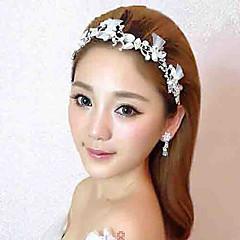 נשים ריינסטון טול סגסוגת כיסוי ראש-חתונה סרטי ראש פרחים חלק 1
