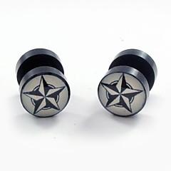 Boucles d'oreille goujon Acier inoxydable Acrylique Mode Forme d'Etoile Bijoux Quotidien Décontracté Sports 2pcs