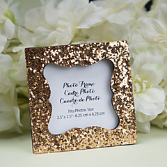 Sparkle and Shine  Glitter Frame/ Place Card Holder