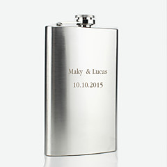 Personalized Stainless Steel Hip Flasks 10-oz Flask
