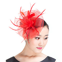 Γυναικείο Φτερό Πολυεστέρας Headpiece-Γάμος Ειδική Περίσταση Καθημερινά Υπαίθριο Διακοσμητικά Κεφαλής 1 Τεμάχιο