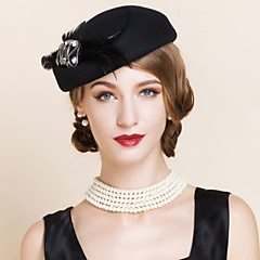 Women's Wool Headpiece-Wedding / Special Occasion / Casual / Outdoor Hats 1 Piece
